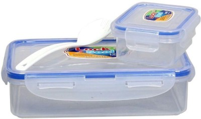 Shopaholic SH-01 Lock N Seal 2 Containers Lunch Box