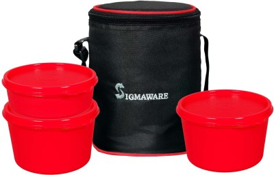 Sigmaware Executive-Office Medium 3 Containers Lunch Box