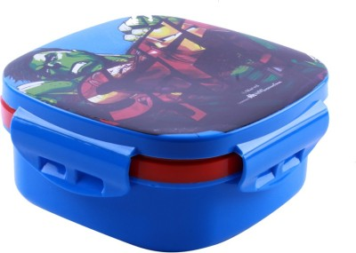 HM International Avengers Lunch Box Blue 1 Containers Lunch Box