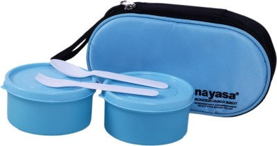 Nayasa Crunchy Munchy 2 Containers Lunch Box