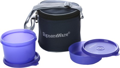 Signoraware 510 2 Containers Lunch Box(630 ml)
