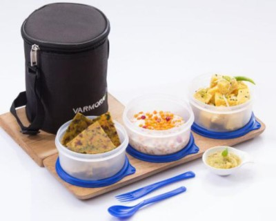 Varmora Perfect 3 Containers Lunch Box