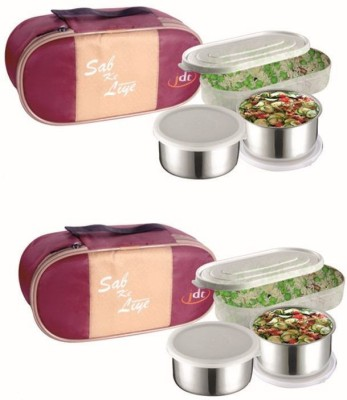 JDT JDT103-103 3 Containers Lunch Box