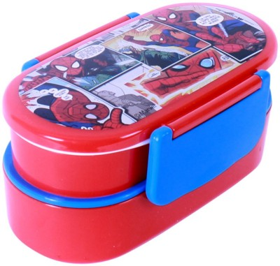 HM International Spiderman Lunch Box 2 Containers Lunch Box