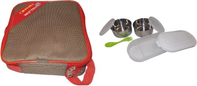 Carrolite Maya Metro 2+1 2 Containers with 1 Chapati Tray 3 Containers Lunch Box