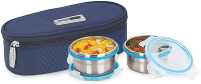 Steel Lock TIFFIN 1221 2 Containers Lunch Box