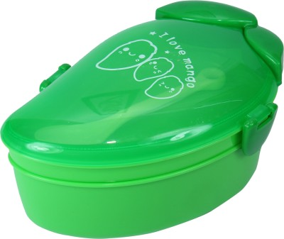 FabSeasons LBX11green 2 Containers Lunch Box
