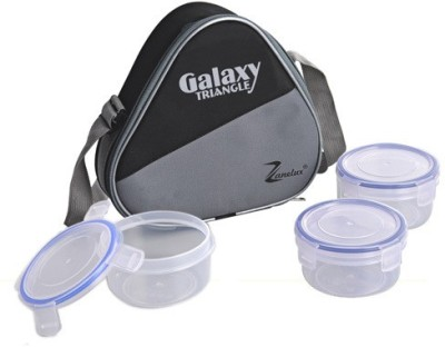 Zanelux LB-032 3 Containers Lunch Box