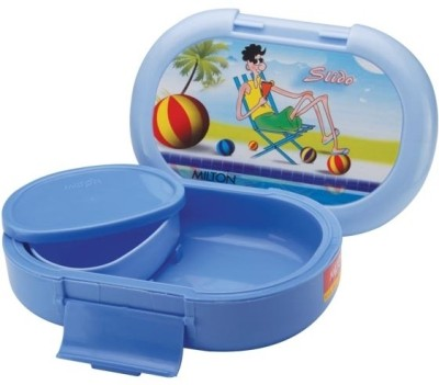 Milton Slido School Range Plastic Lunch Boxes