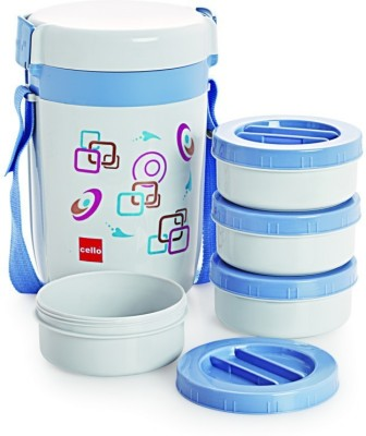 Cello 134628 4 Containers Lunch Box