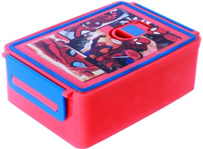 HM International Spiderman Lunch Box-Red 1 Containers Lunch Box