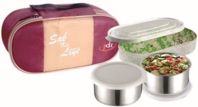 JDT JDT103 3 Containers Lunch Box