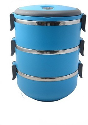 Pratha Different 3 Containers Lunch Box
