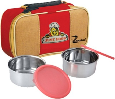 Zanelux LB-020 2 Containers Lunch Box
