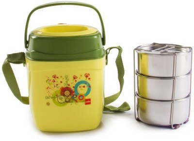Cello World Relish 3 Containers Lunch Box