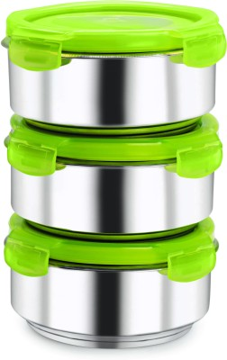 NanoNine Fruit & Salad 3pc. Insulated 3 Containers Lunch Box