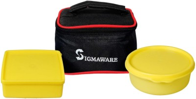 Sigmaware Smart & Cute 2 Containers Lunch Box