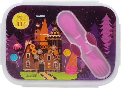 Chumbak Enchanted Dessert Castle Lunch Box 1 Containers Lunch Box