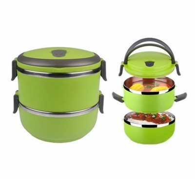 HealthIQ GR-2LR 2 Containers Lunch Box