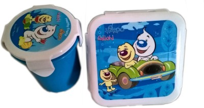 Rana School Products HRLBWCMBLU 2 Containers Lunch Box