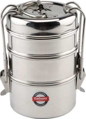 Embassy Clip Carrier 3 Containers Lunch Box