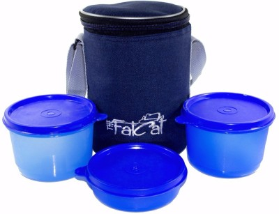 The Fat Cat lb_004 3 Containers Lunch Box
