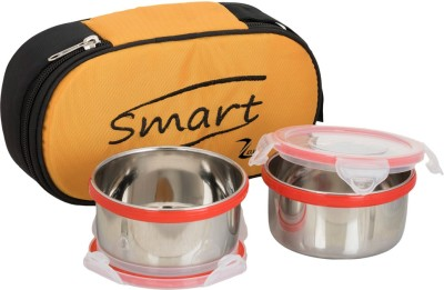 ZANELUX SMART 2 Containers Lunch Box