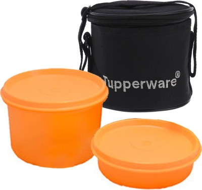 Tupperware lunch box with bag 2 Containers Lunch Box