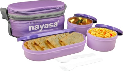 Nayasa Ny-Duplex 3 Containers Lunch Box