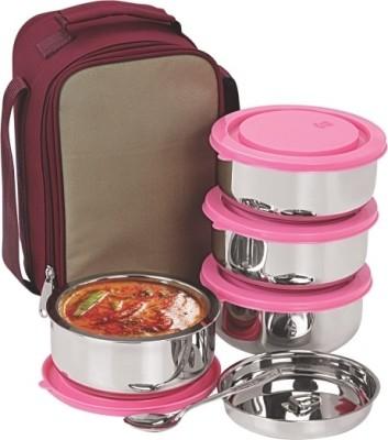 Nano 9 Senior Insulated 4 Containers Lunch Box