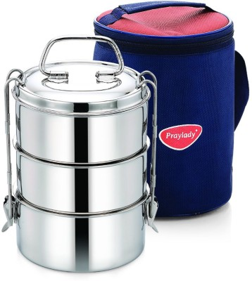 Praylady Hot n Cold24 3 Containers Lunch Box