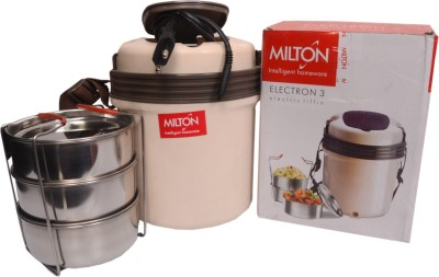 Milton Electric tiffin 3 3 Containers Lunch Box