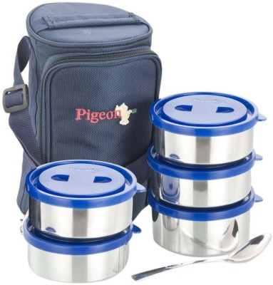 Pigeon Classmate 5 Containers Lunch Box(250 ml)