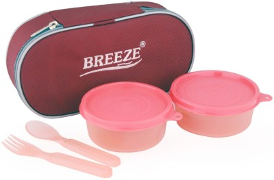 BREEZE Fun n food 2 Containers Lunch Box