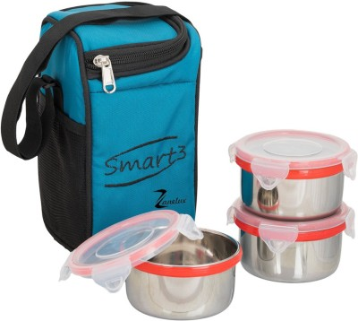 ZANELUX SMART 3 3 Containers Lunch Box