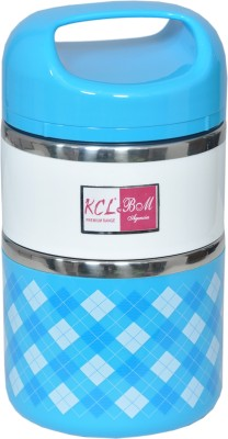 KCL Thermo 2 in 1 Lunch Box 2 Containers Lunch Box