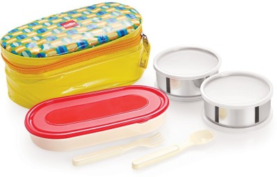 Cello World Big Bite 3 Containers Lunch Box