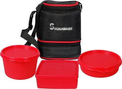 Sigmaware TRI-O 3 Containers Lunch Box