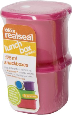 Decor Realseal 2 Containers Lunch Box