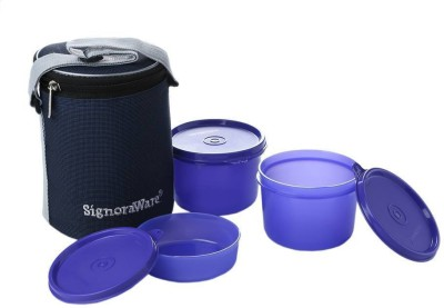 Signoraware Executive Medium 3 Containers Lunch Box