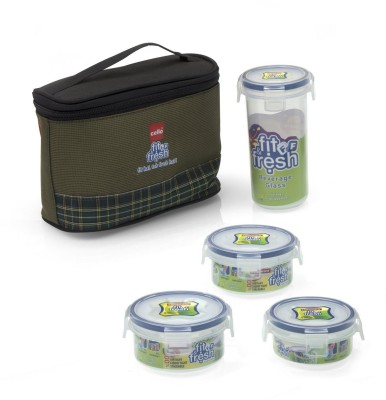 Cello CHF0506 4 Containers Lunch Box