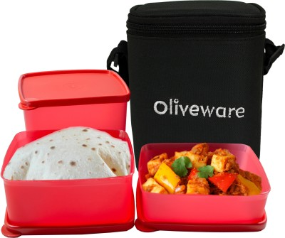 Oliveware LB#50 3 Containers Lunch Box