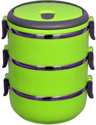 Birde Triple Layer 3 Containers Lunch Box