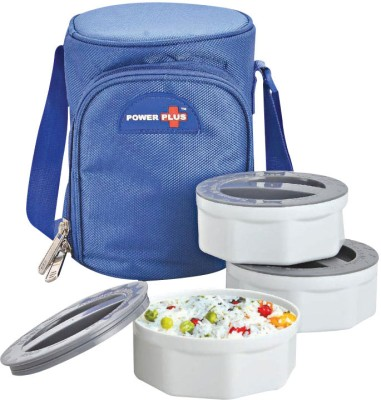 Power Plus MEEH701415 3 Containers Lunch Box