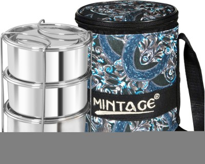 Mintage Royal Lunch Box 3C 3 Containers Lunch Box