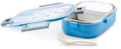 Tuelip Tedemei Rectangle Shape Air Tight With Inner Spoon And 1 Containers Lunch Box(710 ml)