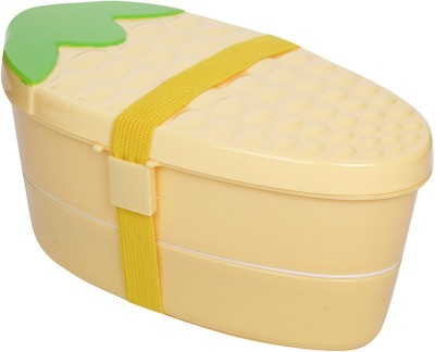 i-gadgets Maize Pattern with Spoon 2 Containers Lunch Box