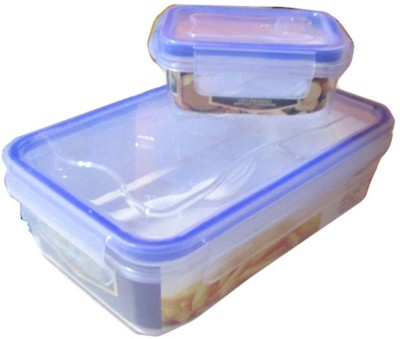 Goldcave Kids Lock And Seal - Water & Air Proof 2 Containers Lunch Box