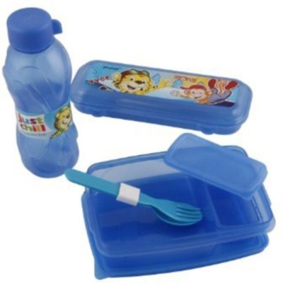 Finnexe Just chill 3 Containers Lunch Box