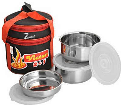 Zanelux LB024 3 Containers Lunch Box